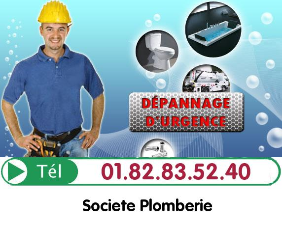 Canalisation Bouchée Etrechy 91580