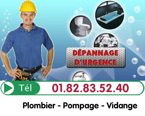 Canalisation Bouchée Le Pre Saint Gervais 93310
