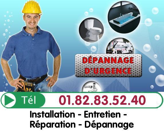 Canalisation Bouchée Le Raincy 93340