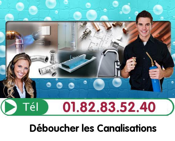 Canalisation Bouchée Paris 75020