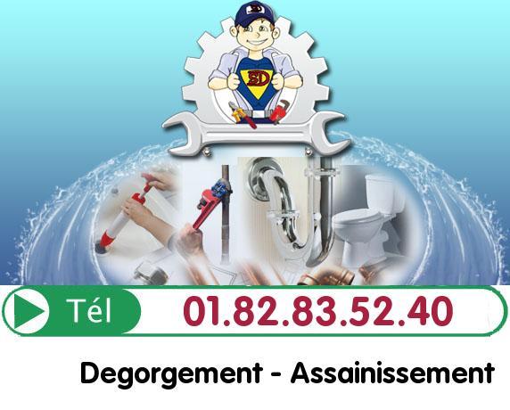 Canalisation Bouchée Vaujours 93410