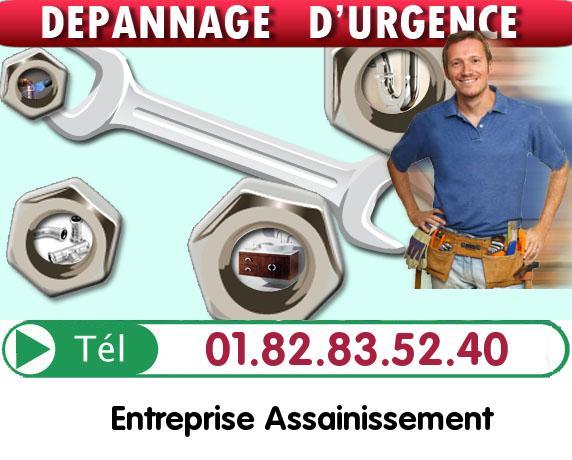 Curage Evacuation Asnieres sur Oise 95270