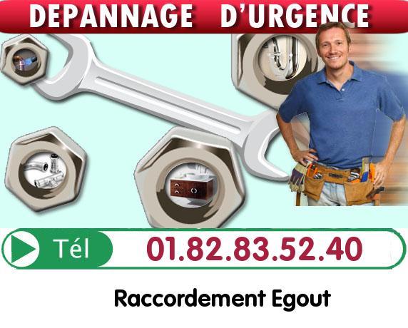 Curage Evacuation Le Chatelet en Brie 77820