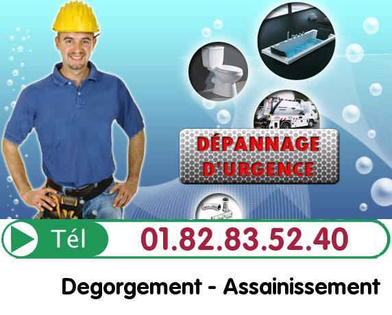 Degorgement Neuville sur Oise 95000