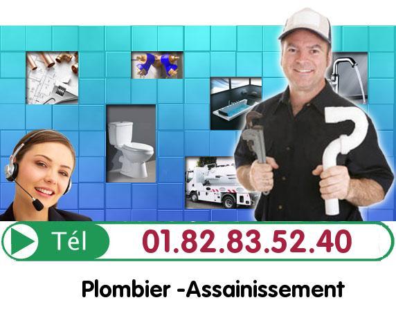 Inspection video Canalisation Menucourt. Inspection Camera 95180