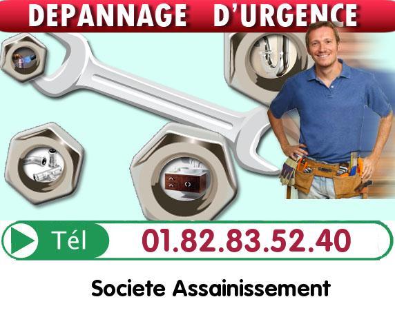 Plombier Cregy les Meaux 77124